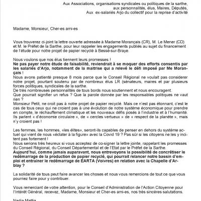 Lettres aux soutiens 81020